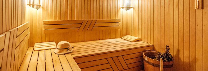 Différents modèles de sauna